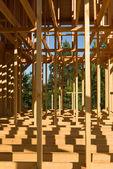 House construction frame — Stock Photo