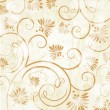 Vintage background with flowers — 图库照片 #5380101