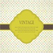 Vintage frame for your design - Foto de Stock  