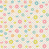 Floral seamless pattern — Stock Photo