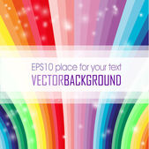 Abstract colored rainbow background — Stock Photo
