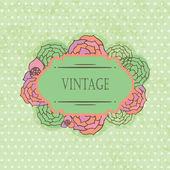 Vintage frame for your design — Stock Photo