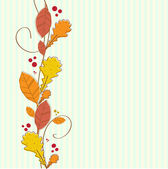 Autumn vector background — Stock Photo