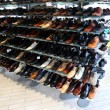 Shoes on shelves - Foto Stock