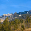 Bavarian Alps in winter — Stock Photo