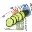 Costly cucumbers — Stock fotografie