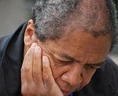 Male depression. — Stock Photo