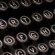Stock Photo: Old typewriter, deadline text