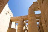 Columns at Karnak Temple, Luxor, Egypt — Stock Photo