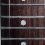 gitaar details als achtergrond — Stockfoto