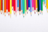 A number of colour pencils — Stock Photo