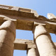 Columns at Karnak Temple, Luxor, Egypt - Stock Photo