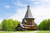 Wooden churches in the north Russia — Stock Photo