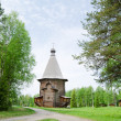 Wooden churches — Foto de Stock