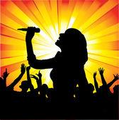 Music Concert — Stock Vector