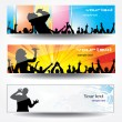 Advertising banners — Stock Vector #6336489