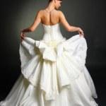 Wedding dress — Zdjęcie stockowe