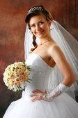 The beautiful bride — Stock Photo