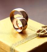 Bröllop en ring — Stockfoto