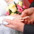 Foto Stock: Wedding Ring on Her