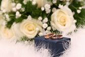 Snubní prsteny — Stock fotografie