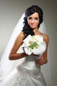The beautiful bride — Stock Photo