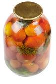 Jar of tomatoes — Stock Photo