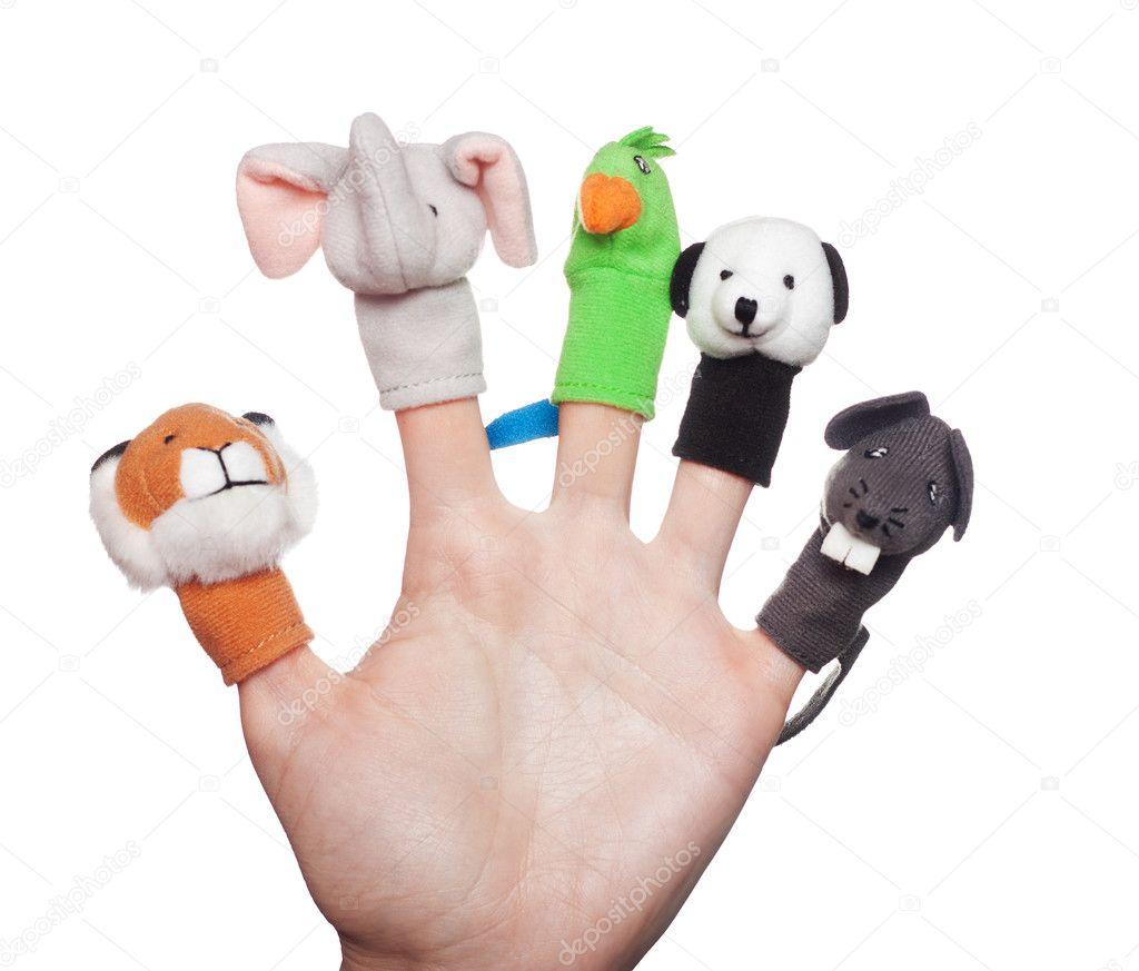 Детские поделки с пальцами рукой