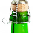 Champagne bottle - Foto Stock