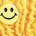 Smile button — Stock Photo