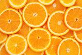 Cibo sano, sfondo. arancio — Foto Stock