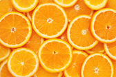 Healthy food, background. Orange — Stock Photo