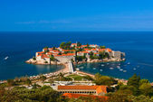 Sveti Stefan island. Montenegro. — Stock Photo