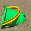 Plastic toy bucket — Foto de Stock