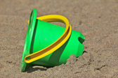 Plastic toy bucket — Stockfoto