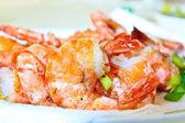 Deap Fried shrimps — Stock Photo