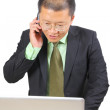 Chinese businessman — Stock Photo