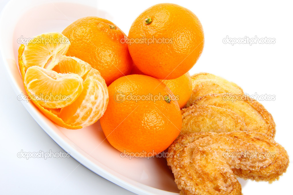 Mandarins. Close up — Stock Photo #6683979