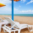 Stock Photo: Chair by sea