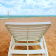 Chair by the sea — Stock Photo