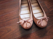 Ballerina flats — Stock Photo