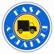 Royalty-Free Stock Vectorielle: Fast delivery icon