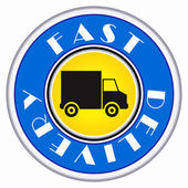 Fast delivery icon — Stock Vector