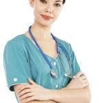 Female nurse — Stock Photo #5493685