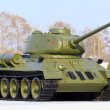 Soviet tank model t34 - Stock Photo