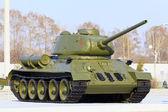 Soviet tank model t34 — Stock Photo