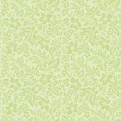 Dikişsiz çiçek yeşil renkli. — Stok Vektör