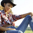 Stock Photo: Beautiful Country Girl