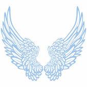 Pair of wings — Stock Vector