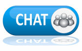 Chat banner — Stock Vector